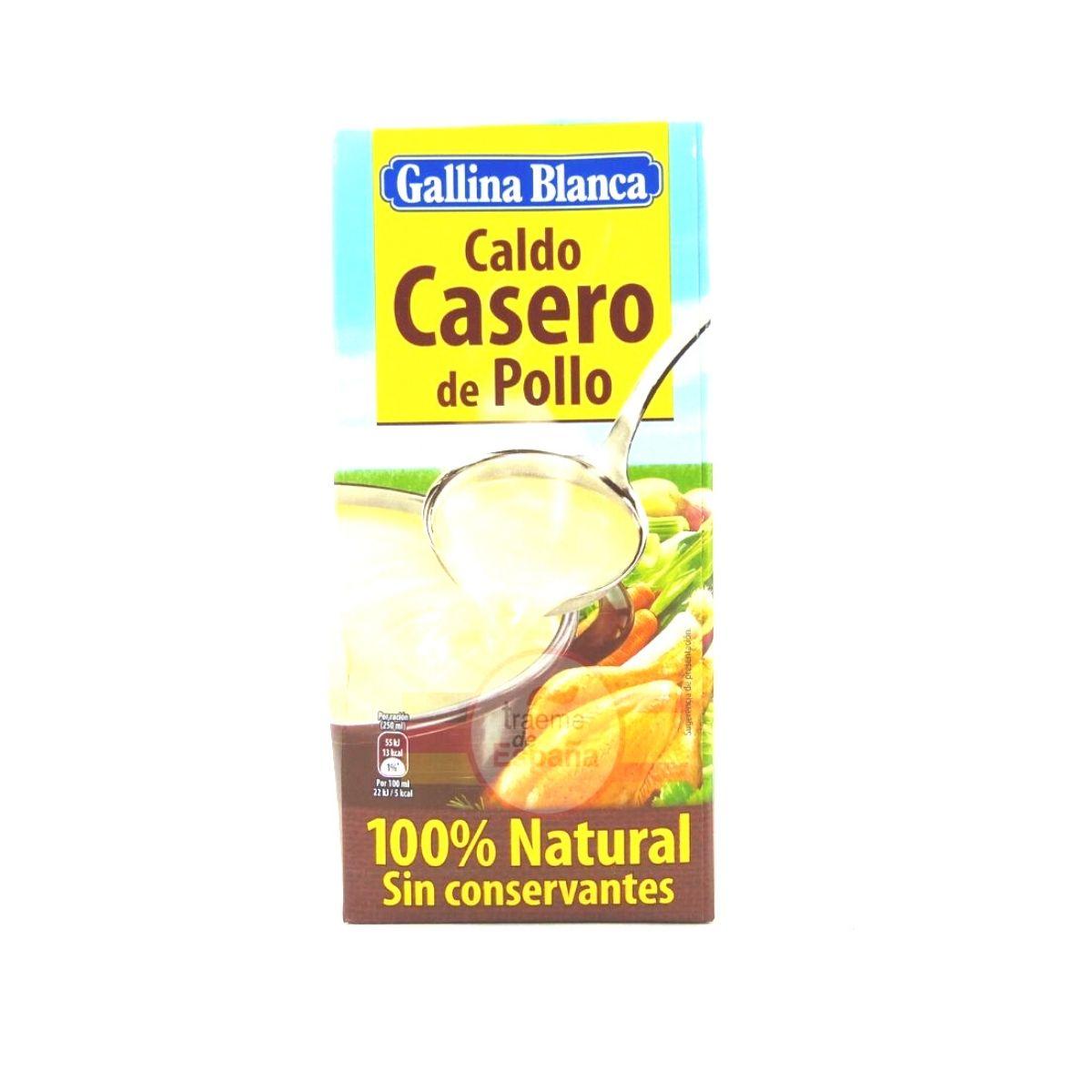 Caldo Casero Pollo Gallina Blanca 1 Litro Tráeme De España