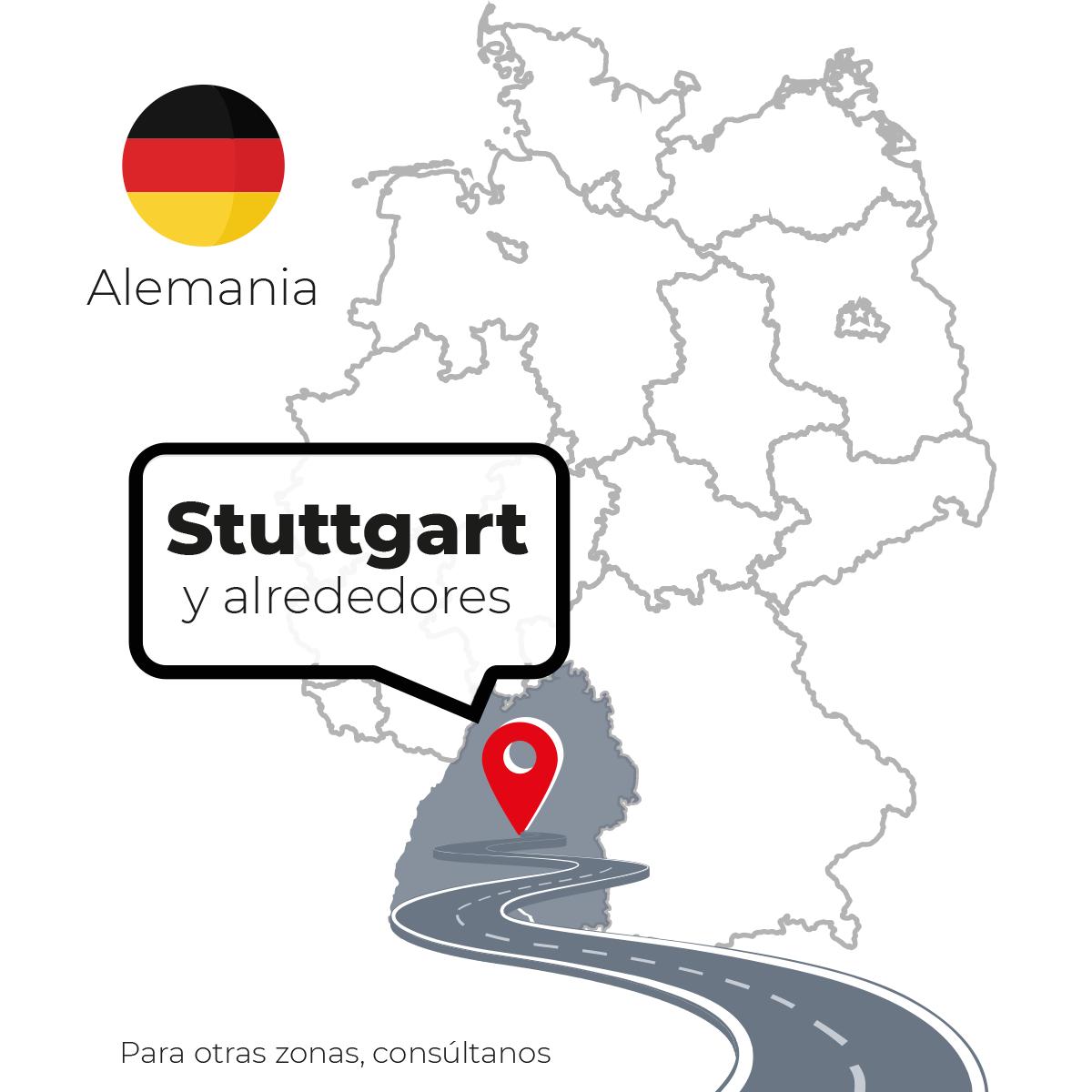 Zonas de reparto en alemania
