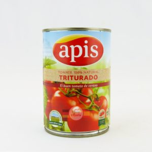 Conservas Vegetales - Tomate triturado 100% Natural Apis 400gr - Tráeme de España